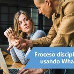 ¿Se pueden recibir notificaciones por Wwhatsapp en procesos disciplinarios del sector privado?