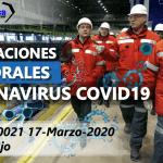 Implicaciones laborales coronavirus COVID19