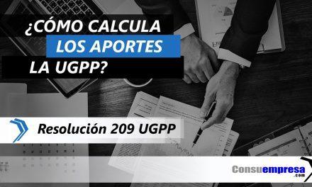 ¿Cómo calcula los aportes la UGPP?
